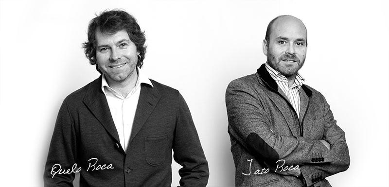 J.Roca joyería Barcelona equipo Quelo y Jato Roca