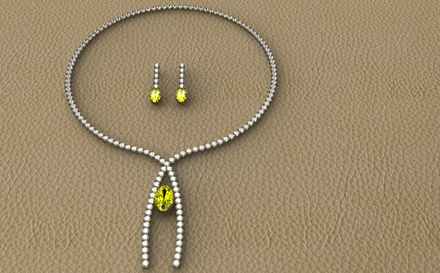 COLLAR FANCY YELLOW