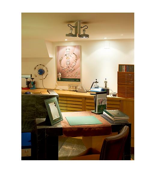 Joyería relojería J.Roca - servicio técnico taller